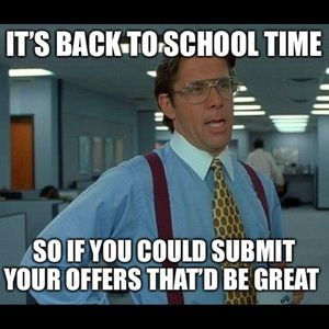 Other - Back to school